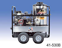 Mobile, Self-Contained Pressure Washer