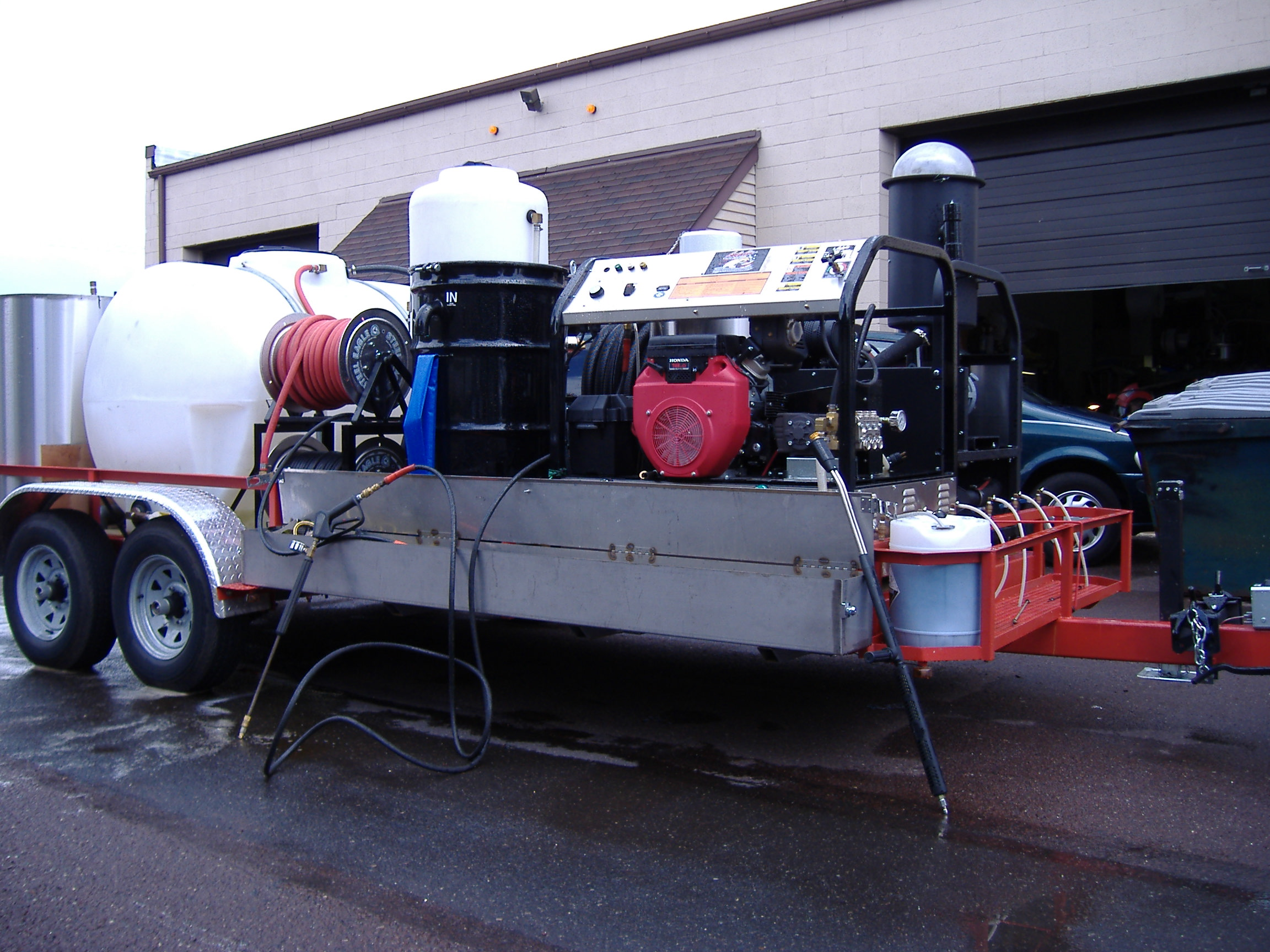 Pressure Washer Trailer