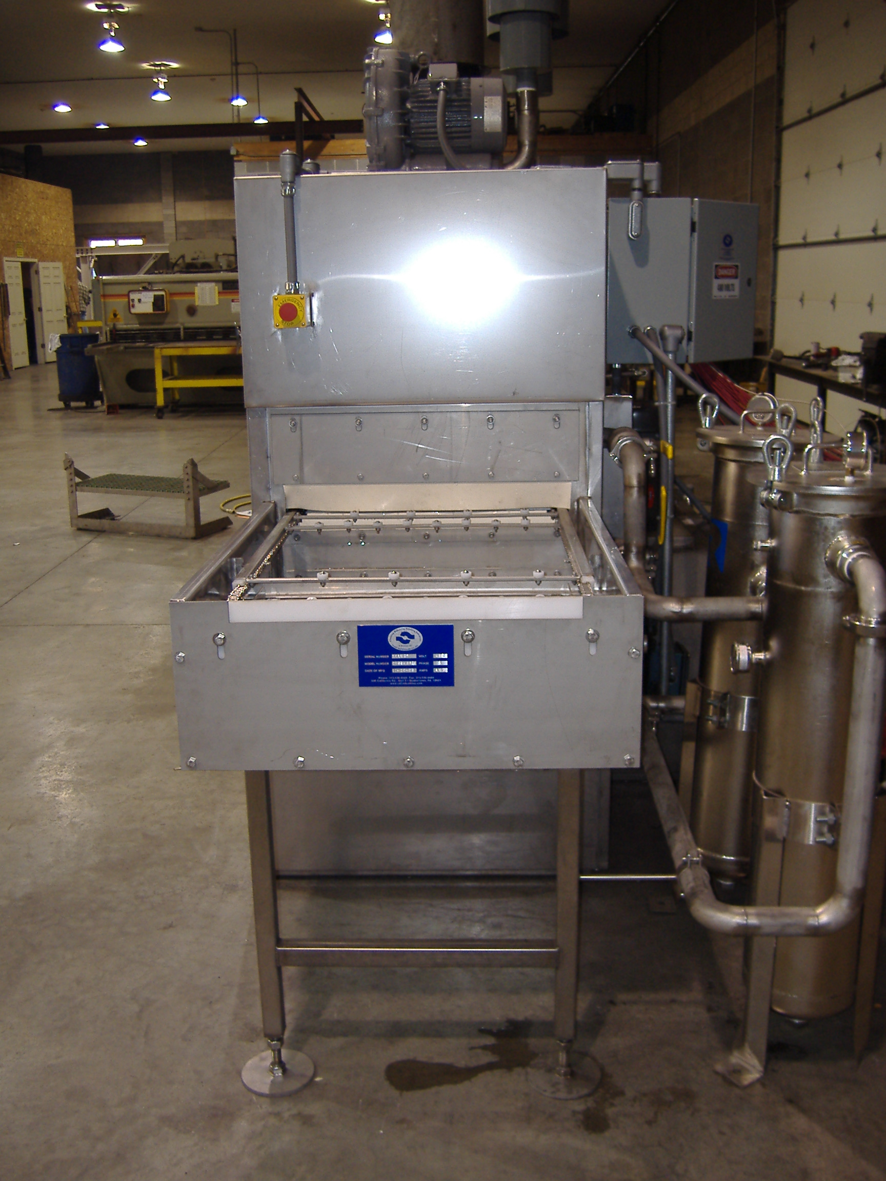 Industrial Parts Cleaning Water Based Parts Washers